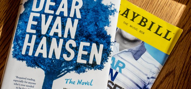 "From Broadway to bookstores: ""Dear Evan Hansen"" has now become a novel"