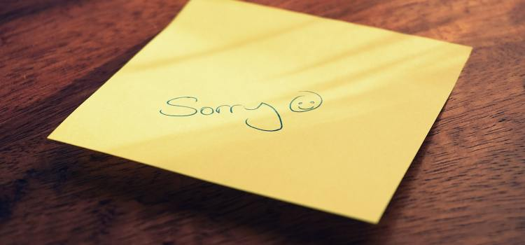 Sorry not sorry: Don't apologize if you don't really mean it