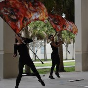 Off to Ohio: CCHS varsity color guard travels to World Championships