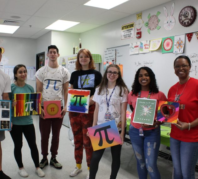 Let them eat pie!: An inside look on CCHS math teacher Ms. Harding's annual Pi Day celebration