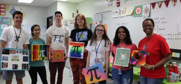 Let them eat pie!: An inside look on CCHS math teacher Ms. Harding's annual Pi Day celebration