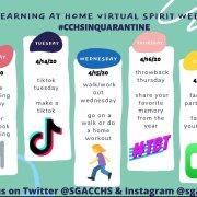 School spirit from home: CCHS SGA hosts virtual spirit week