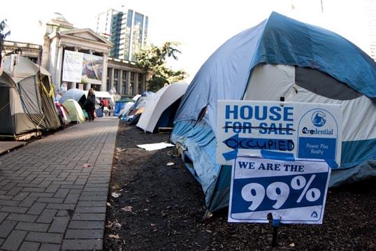 Occupy movements - Photo by iwishmynamewasmarsha, Flickr