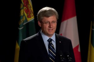 Prime Minister Stephen Harper. Photo courtesy of University of Saskatchewan, Flickr