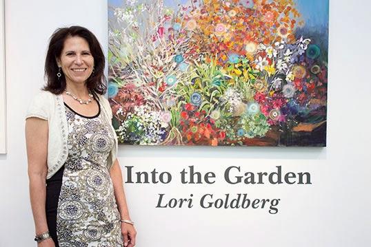 Artist Lori Goldberg. - Photo by Jocelyn Halle