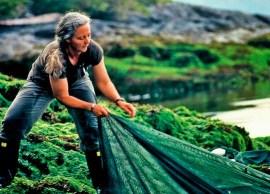 Dr. Alexandra Morton exposes the dangers of BC salmon farming in Salmon Confidential. | Photo courtesy of VIFF