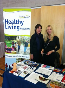Caroline Price and Corrine Eisler of the Healthy Living Program. | Photo courtesy of Healthy Living Program