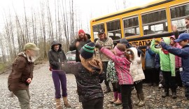 His team brings environmental awareness to northern B.C | Photo courtesy of Tamo Campos