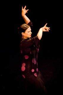 "Flamenco dancer  Veronica ""Bonnie"" Stewart.| Photo by Tamara McGill, Lama Photography."