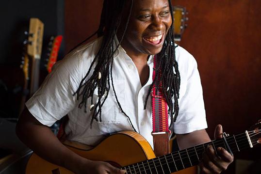 Musician at heart.   Photo by Katia Paradis