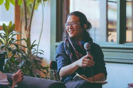 Kevin Huang, panelist, Co-founder and Executive Director of hua foundation
