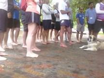 Barefoot Laugh