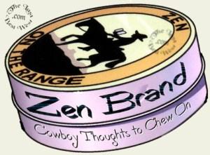 Zen Brand Cowboy Posters