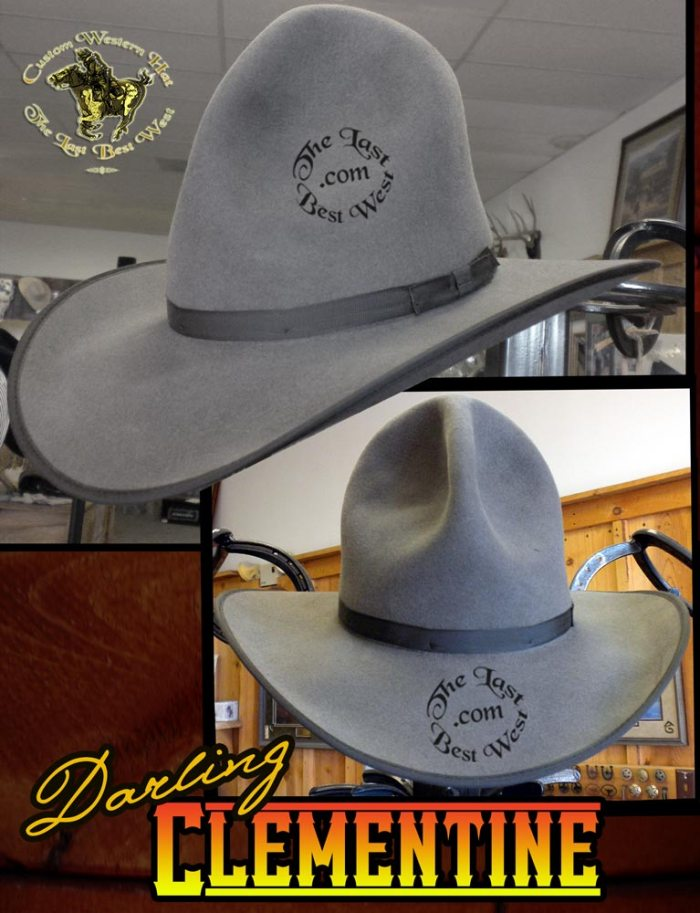 Darling Clementine Cowboy Hat