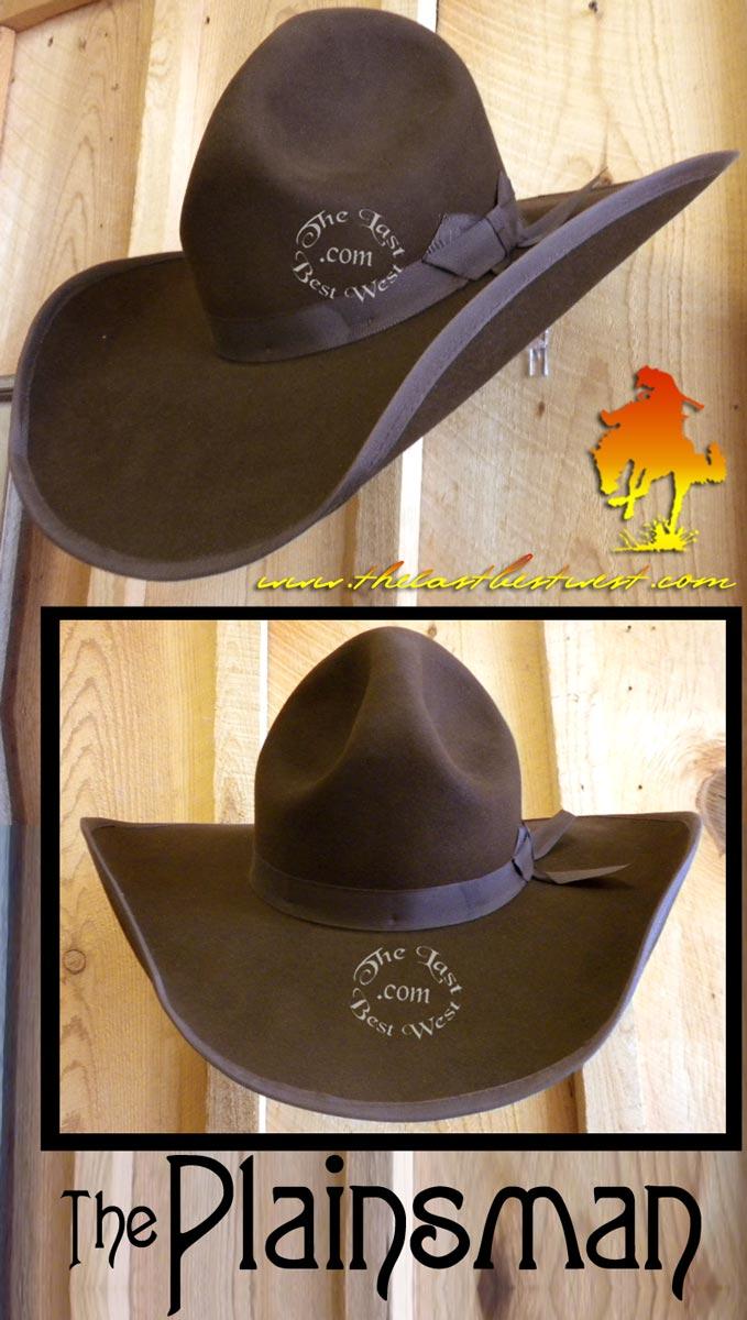 5d7441eacff7d Plainsman Custom Hat - The Last Best West