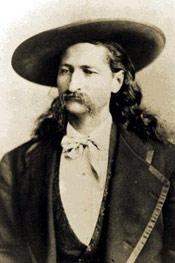 Wild Bill Hickok circa 1870