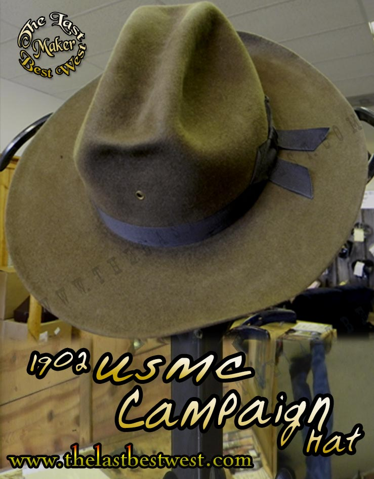 USMC M1902 Campaign Hat - The Last Best West de25c032d08