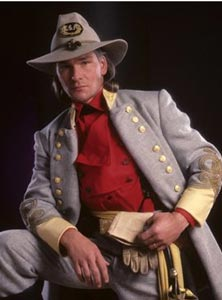 Patrick Swayze in North and South