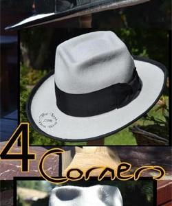4 Corners Custom Fedora Hat