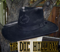 Doc Holliday Custom Handmade Hat