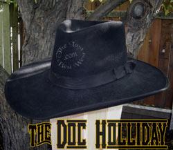 Doc Holliday Custom Handmade Hat
