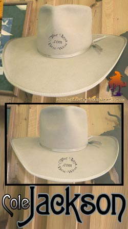Cole Jackson Handmade Cowboy Hat