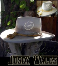 Josey Wales Western Movie Hat