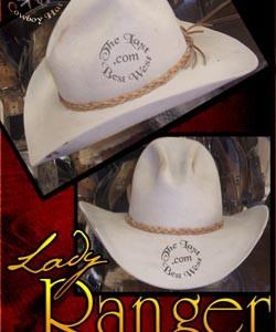 Lady Ranger Custom Handmade Hat