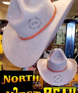 Northwest Peak Cowboy hat custom beaver fur felt