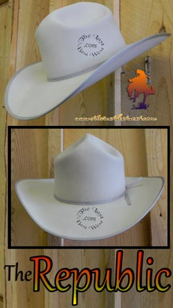 2830665de95 Republic Handmade Cowboy Hat - The Last Best West