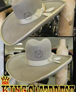 King Of The Sagebrush Handmade Hat