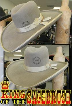 King Of The Sagebrush Handmade Hat