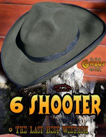 6 Shooter Western Dress Hat