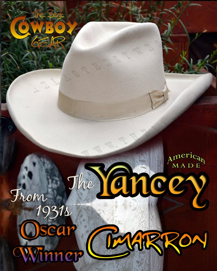 Cimarron Custom Movie Hat