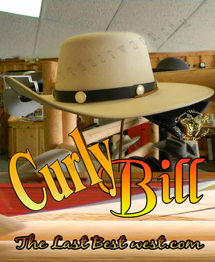 Curly Bill Custom Cowboy Hat