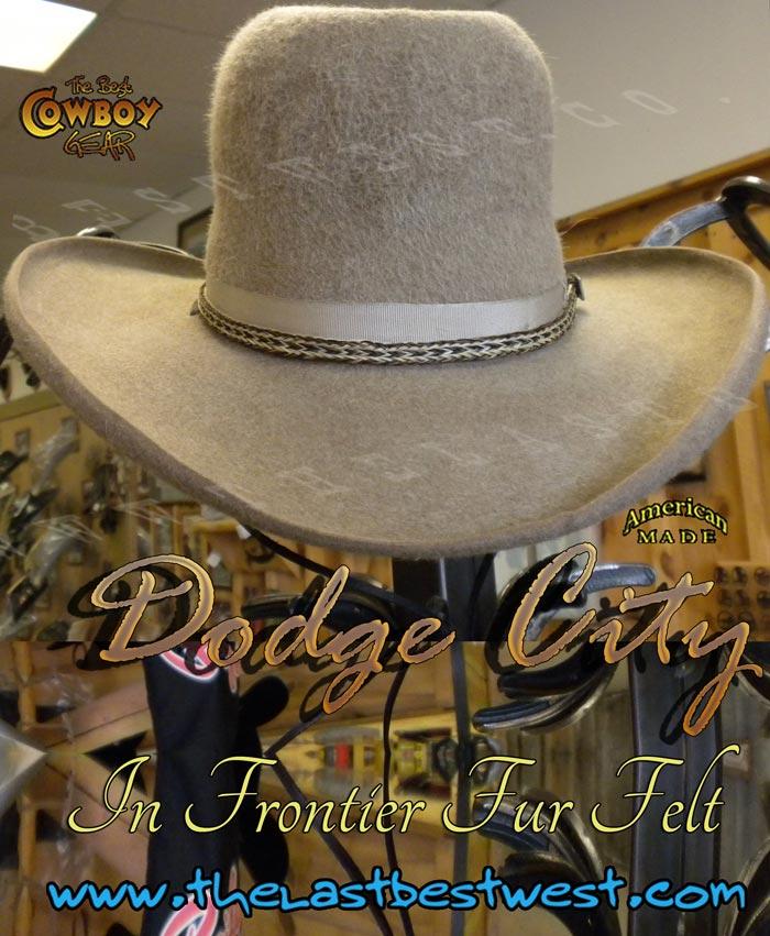Dodge City Cowboy Movie Hat