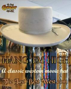 Hang 'Em High Movie Hat