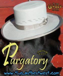 Jesse James Purgatory Cowboy Hat