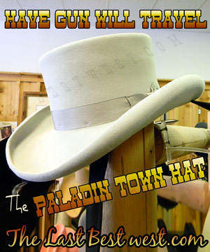 Have Gun Will Travel Dress Hat