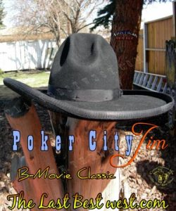 Poker City Jim B-Movie Hat