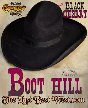 Boot Hill Old West Cowboy Hat