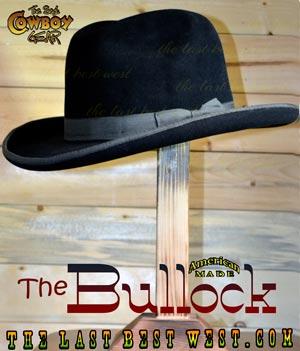 Bullock Deadwood Cowboy Hat