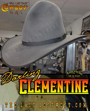 Darling Clementine Cowboy Hat