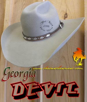 Georgia Devil Cowboy Hat