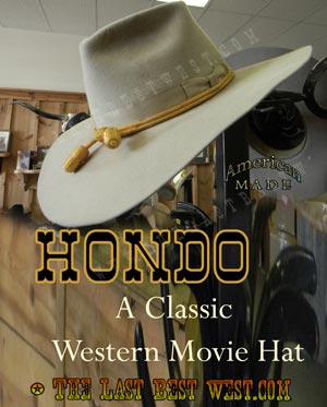 4bde6e656f66e Hondo Custom Cowboy Hat - The Last Best West