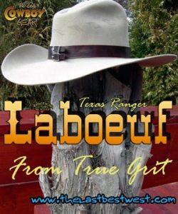 LaBoeuf Cowboy Movie Hat