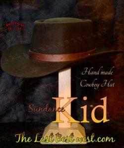 Sundance Kid Cowboy Hat