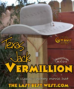 Texas Jack Vermillion Hat