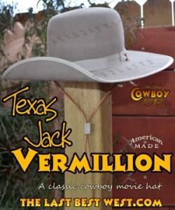 162191e18bd Old West Hats - The Last Best West