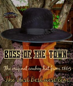 Boss of the Plains Cowboy Hat